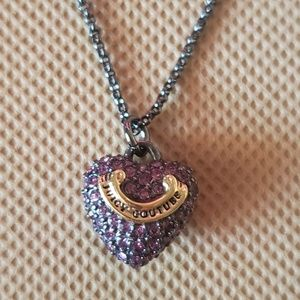 JUICY COUTURE PEWTER NECKLACE